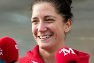 Vice-capitaine de l'Équipe de Suisse, championne de Suisse avec les Cern Wildcats et joueuse de rugby à 7, Nicole Gerber-Imsand est à l'image d'une équipe nationale en pleine refondation. Capée pour la seconde fois à Yverdon avec le XV féminin de l'Edelweiss, la Genevoise trait le sourire d'une évolution en cours au sein du contingent. © leMultimedia.info / Oreste Di Cristino [Yverdon-les-Bains]