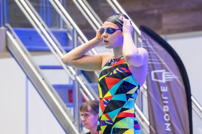 Leoni Richter avait repris les entraînements du 400 mètres nage libre aux Vernets, trois ans après avoir abandonné la discipline au profit des distances plus courtes. © leMultimedia.info / Oreste Di Cristino [Genève]