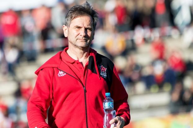 Olivier Nier se satisfait d'un point: la famille de l'Équipe de Suisse grandit constamment. Lire encadré. © leMultimedia.info / Oreste Di Cristino [Nyon]