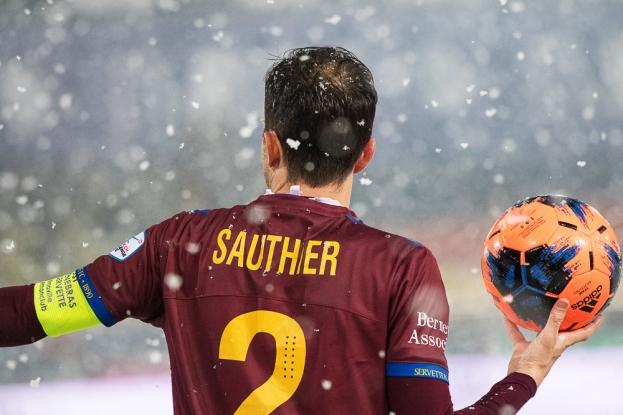 Anthony Sauthier est à l'image du sérieux du club Grenat. Il est l'un des premiers à ressentir l'effervescence du passé 2011. © leMultimedia.info / Oreste Di Cristino [Lausanne]
