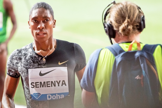 Transition du 800m au 1500m ? « Je peux faire beaucoup de courses, ma palette est large, mais ma course c'est le 800 m, et j'en ferai jusqu'à la fin. Personne ne m'empêchera de faire ce que je veux. » © leMultimedia.info / Oreste Di Cristino [Doha]