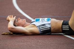 Abattue mais curieusement pas épuisée, la Suissesse est passée à côté de son premier grand rendez-vous de la saison. © leMultimedia.info / Oreste Di Cristino [Rome]