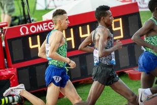 Comme l'année dernière, il disputera également le format en sprint long des 1'500 mètres aux championnats suisses à Bâle fin août, une distance de réglage qui puisse lui permettre d'entraîner au mieux le final des courses sur 10'000m. © leMultimedia.info / Oreste Di Cristino [Lausanne]