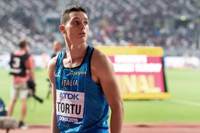 Le Milanais Filippo Tortu s'est distingué à Doha; en se qualifiant avec grande conviction pour la finale du 100 mètres mondial, il s'est ouvert les portes d'un futur plaqué or. © leMultimedia.info / Oreste Di Cristino [Doha]