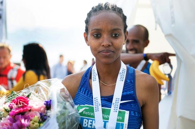 Helen Bekele Tola reste la 12e meilleure performeuse mondiale de l'année sur marathon et 11e sur les 10km; un statut qu'elle arrose d'un tempérament versatile entre le on- et off-competition. © leMultimedia.info / Oreste Di Cristino [Lausanne]